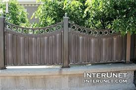 metal fence styles. Modern Fence Designs Metal Ideas Styles