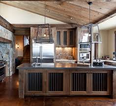 rustic kitchen inspiration corrugated metal interior highcamphome ceiling n57 ceiling