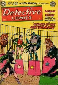 detective ics crimes of the catwoman issue art by bob kane