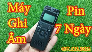 Máy Ghi âm mini siêu nhỏ   Máy Ghi âm làm youtube, Vlog Pin Khủng 7 Ngày -  YouTube