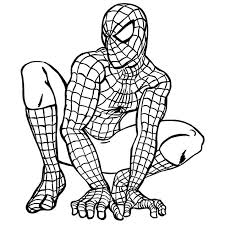 Small Picture SPIDERMAN COLORING SPIDERMAN COLORING PAGES 4 Kids Coloring