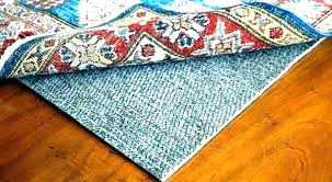 rug pads for hardwood floors wood area rugs pad best s f carpet information are carpet