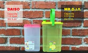 Mrdiy Daiso Compared In Rm5 November Showdown Voiz Asia
