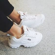 fila disruptor 2 pink. shown by the awesome ginney noa, fila came thru with crispy white disruptor ii available tomorrow 10 am. 2 pink n
