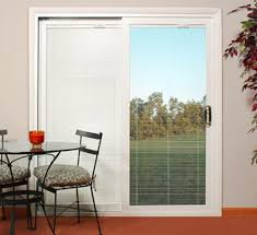 french doors with built in blinds reviews 3 panel sliding patio door in sophisticated sliding glass
