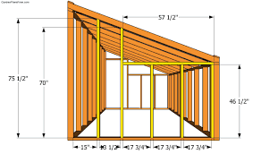green house plans. Back Wall Plans Green House