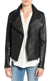 sam edelman women s leather moto jacket black nice 1873 larger image