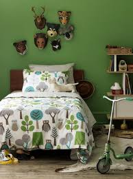 dwellstudio owls twin duvet set