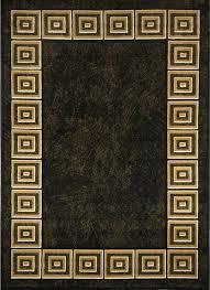 optimum area rug 11021 450 black 7 8 x10