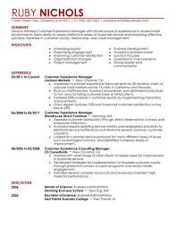 I Want To Make My Resumes Best Customer Experience Manager Resume Example Livecareer