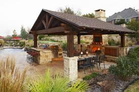 covered outdoor kitchens with fireplace. Contemporary With Outdoor Kitchen Designs Featuring Pizza Ovens Fireplaces And Other Cool  Accessories  Covered Outdoor Kitchens Fireplace Cover And With Kitchens V