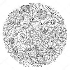 Mandala Kleurplaat Moeilijk Intended For Moeilijke Mandala Intended