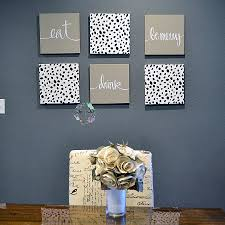 large letters wall decor beautiful dalmation eat drink be merry set