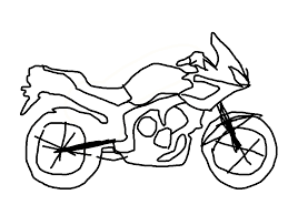 Did the bicycle thing decided to try my hand at tracing digital art on this one