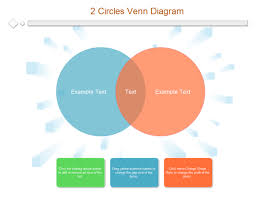 Venn Diagram In Ppt 2 Circles Venn Diagram Templates And Examples