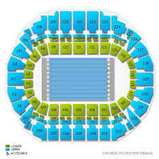 Chi Health Center Seating Chart Usa Swimming Trials Session 8 Tickets 6 24 2020 6 45 Pm