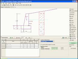 Small Picture Gravity Wall GEO5 Geotechnical Design Software Earth