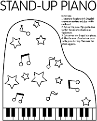 Small Picture Stand Up Piano Coloring Page crayolacom