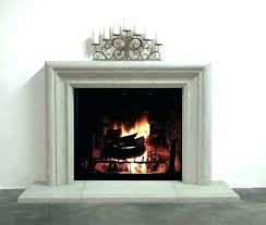 concrete fireplace mantel shelves