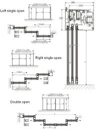 drawn door sliding door 15