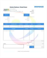 Graphic Design Invoice Template Word – Europcars.club