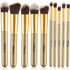foolzy br 15d professional makeup brushes brown kit 10 no s foolzy br 15d professional makeup brushes brown kit 10 no s at best s in india
