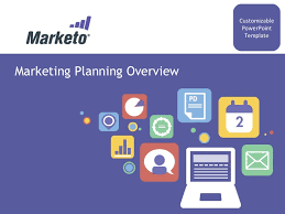 Marketing Plan Ppt Example Marketing Quarterly Yearly Planning Customizable Powerpoint Template