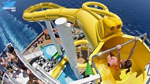 the best cruise ship water slides that will make you amazed and surprised