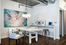 chic office ideas. Contemporary Office OfficeShabby Chic Industrial Home Office With White Table On Wheels Also  Chair Under Ideas