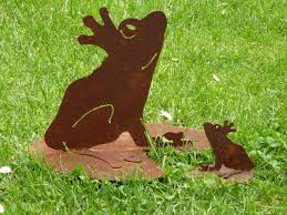 Froschkönig Auf Seerosenblatt 2 Größen