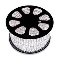 50m RGB LED Strip, <b>220V AC</b>, <b>SMD5050</b>, 60 LED/m - LEDKIA