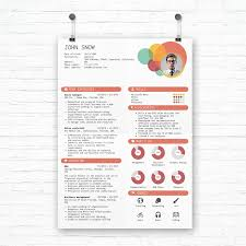 Resume Template 2017 100 Creative Resume Templates You'll Want To Steal in 100 41