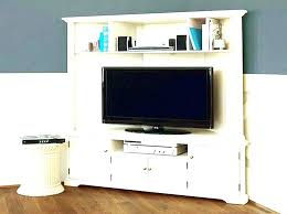 solid wood stands corner for flat screens cabinet painted in white tv armoire occasion