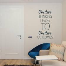 inspirational wall decal on removable wall art stickers uk with positive thinking wall sticker by wallboss wallboss wall stickers
