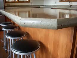 poured concrete countertops cost