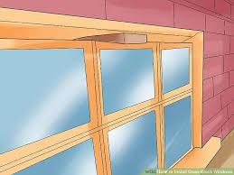 image titled install glass block windows step 12