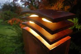 handmade outdoor lighting. Exterior Decorative Lighting With Outdoor Lights To Harmonize Your Natural Garden Handmade L