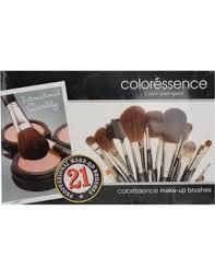 coloressence makeup brush set