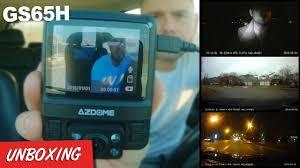 <b>AZDOME</b> DASH CAM <b>GS65H Dual</b> Lens 1080P/720P GPS Night ...