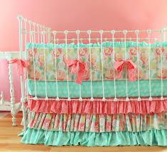 vintage rose crib bedding add to loading set