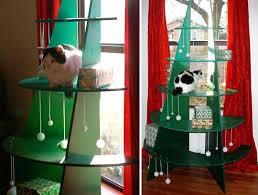 Best 25 Cat Christmas Tree Ideas On Pinterest  Cat Christmas Cat Themed Christmas Tree