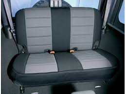 grey rear neoprene seat cover