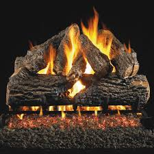 most realistic vented gas log set