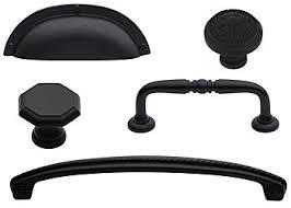 black cabinet knobs. Flat Black Cabinet Hardware Knobs