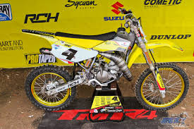 2018 suzuki 85. delighful suzuki as far as i know the pipe was handmade the silencer a yoshi yes hereu0027s  better look at rc4 rm85 from everts and friends event inside 2018 suzuki 85