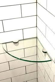 glass shower shelf showers glass shower shelves corner shelf tempered bathroom miller frosted bat quarter round glass shower shelf