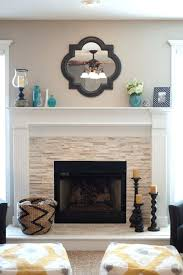fireplace mantel ornaments stunning fireplace tile ideas for your home