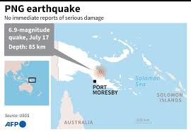 A tsunami warning was issued monday afternoon after a powerful earthquake struck off the coast of alaska, according to the national weather service. 6 9 Magnitude Quake Hits Papua New Guinea