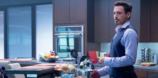 tony stark office. And Also Someone To Clean Up The Coffee Grounds. Tony Stark Office