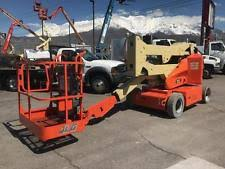 jlg lift articulating aerial boom lift 2005 jlg e400an electric narrow 40 utah